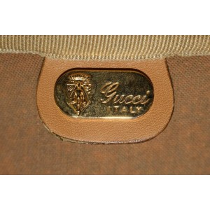 Gucci Large Micro GG Suitcase Luggage Bag 2g62