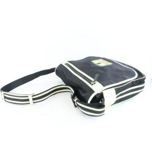 Gucci Web 30gz1126 Black Nylon Messenger Bag