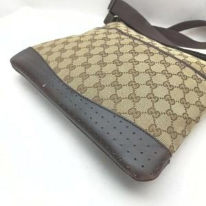 Gucci Monogram GG Crossbody Messenger Bag 862358