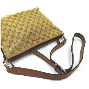 Gucci Pink x Brown Monogram GG Messenger Bag 862318