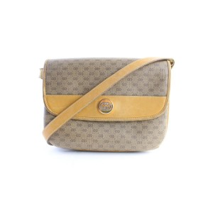 Gucci Micro Monogram 5gr0628 Tan Coated Canvas Cross Body Bag