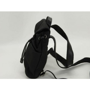 Gucci Mini 871765 Black Nylon Backpack