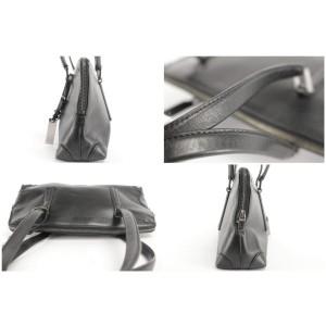 Gucci Satchel 16gk1207 Black Enamel Shoulder Bag