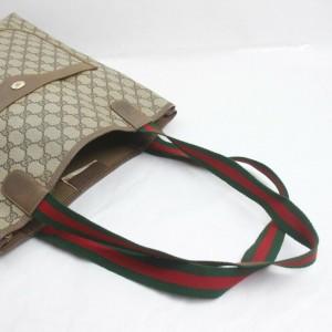 Gucci Web Supreme GG Large Shopping Tote Bag 862391