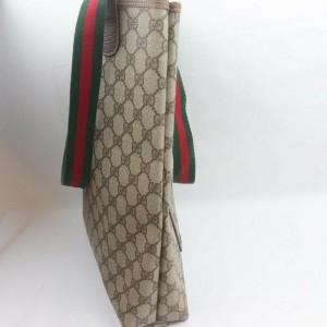Gucci Supreme GG Monogram Web Large Shopping Tote 861679