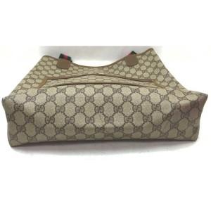 Gucci Supreme GG Web Large Shopping Tote Bag 862665
