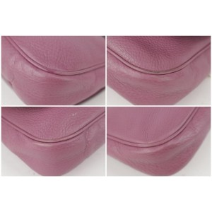 Gucci Soho Chain Flap 2gk1129 Purple Cross Body Bag