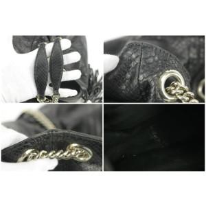 Gucci Soho Chain Tote 18gk1220 Black Python Shoulder Bag