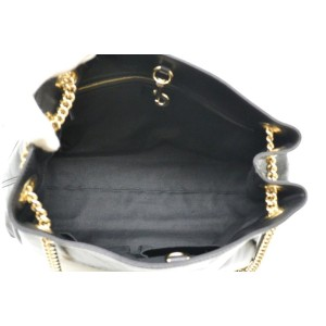 Gucci Soho Chain Tote 869612 Black Patent Leather Shoulder Bag