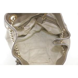 Gucci Soho Champagne Gold Chain 18gk1204 Tote