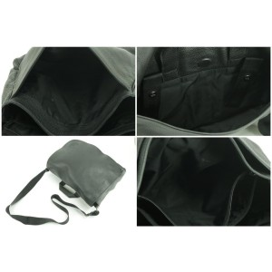 Gucci Soho Diaper Or Briefcase 28gk0124 Black Leather Cross Body Bag