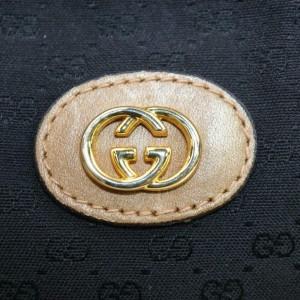 Gucci Soho Disco Monogram 872434 Black Gg Canvas Cross Body Bag