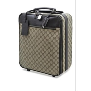Gucci Supreme GG Monogram Rolling Luggage Trolley 2g615