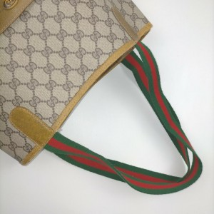 Gucci GG Supreme Web Shopping Tote bag 862585