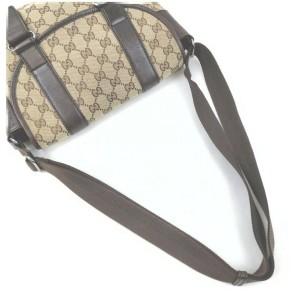 Gucci Brown Monogram GG Waist Bag Belt Pouch Fanny Pack 862388