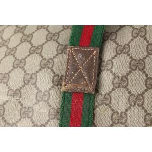 Gucci XL Web Supreme GG Suitcase Luggage Bag 126ggs23