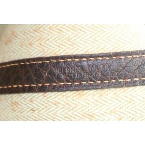 Hermès Bordeaux Buffalo Amazonia Leather Garden Party Tote 778her41