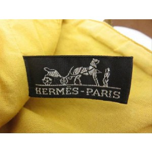 Hermès Ahmedabad Quilted 215590 Yellow X Beige Canvas Tote