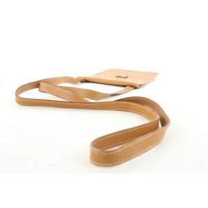 Hermes Brown Leather Ameri Crossbody Bag 277her217