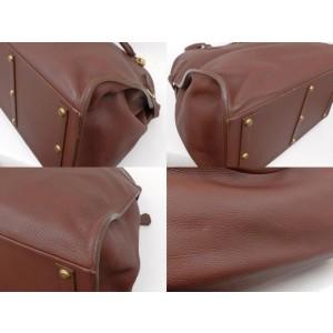 Hermès Havane Brown Clemence Leather Atlas Travel 50cm 236375