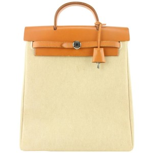 Hermès 2-in-1 Sac a Dos Toile Herbag Backpack 236her36