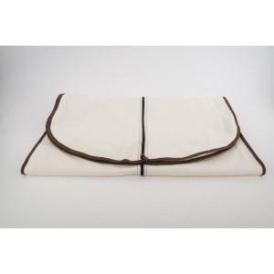 Hermes Large Orange Logo Box with Toile Canvas Garment Bag 310her222