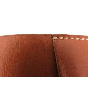 Hermès Leather Bangle 216551