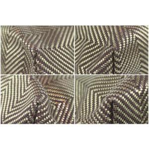 Hermès Chennai Gold Herringbone Mm 1hz1107 Brown Polyester Tote