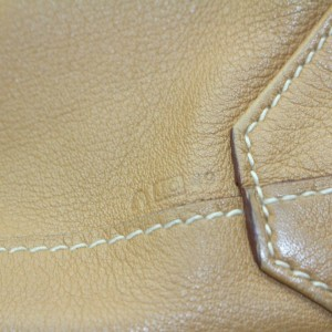 Hermès Double Sens 872343 38 Brown Clemence Leather Tote
