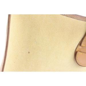 Hermès Beige Bicolor Evelyne H Logo Messenger Cross Body 857111