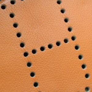 Hermès Evelyne Bordeaux Bicolor Amazonia 868722 Orange Leather Messenger Bag