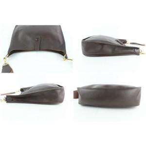 Hermès Dark Brown Evelyne Messenger bag 6HZ1