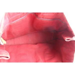 Hermès Fourre Tout 226436 Red Canvas Tote