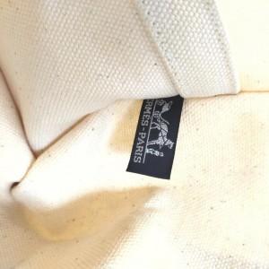 Hermes Bicolor Ivory x Blue Fourre Tout Tote Bag 863079