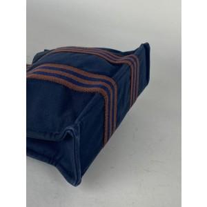 Hermès Fourre Tout PM Tote Bag Navy 858h63