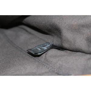 Hermès Grey x Orange Stripe Fourre Tout MM Tote bag 101her428