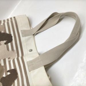 Hermes Ultra Rare Horse Pin Stripe Fourre Tout Tote Bag 863112