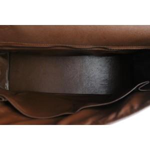 Hermès Brown Epsom Leather Retourne Kelly 32 Bag 1H68