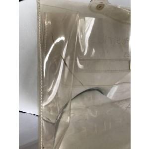 Hermès Kelly Souvenir 1997 Translucent Clear 229145 White Vinyl Satchel