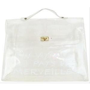 Hermès Souvenir Kelly Clear Translucent 1997 14her626