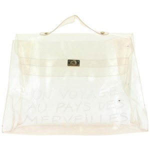 Hermès Transparent L'Exposition 1997 Kelly 42her122