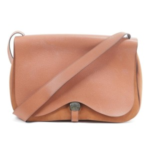 Hermès Messenger Colorado Gm Flap Large 21hk0113 Orange Leather Cross Body Bag