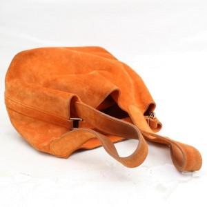Hermès Picotin 18 Pm 868694 Orange Suede Leather Tote