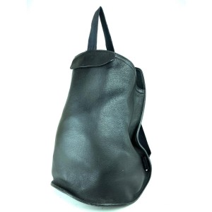 Hermès Sherpa Backpack Black Taurillon Clemence Leather 22her630