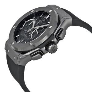 Hublot Classic Fusion Aerofusion Chronograph Automatic Black Magic Skeleton Dial Men's Watch