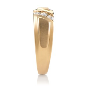I.B. Goodman 14K Yellow Gold Diamond Band Ring