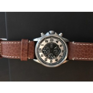 Luminox 1869 Stainless Steel & Leather 48mm Watch