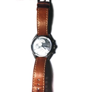 JBW Woodall silver watch