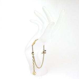 Louis Vuitton Gold Tone Hardware Bracelet