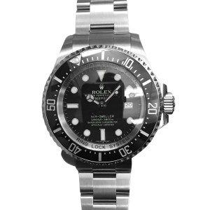 Rolex Seadweller Deepsea Steel Ceramic Bezel Mens Watch 116660